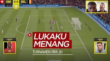Berita video striker Inter Milan, Romelu Lukaku, meraih kemenangan pada laga perdana turnamen FIFA 20 dengan memakai tim Barcelona.