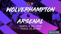 Premier League - Wolverhampton Vs Arsenal (Bola.com/Adreanus Titus)