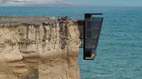 Konsep rumah ekstrem menggantung di sisi tebing akan dibangun di dekat pantai Australia.