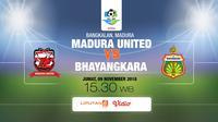 Madura United fc vs Bhayangkara FC