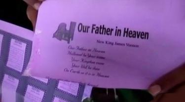 VIDEO: Ditemukan Juga Terompet dari Kertas Doa Umat Kristiani