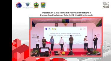 PT Nestle Indonesia akan membangun Pabrik Nestle Bandaraya di Batang Jawa Tengah