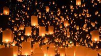 Ilustrasi festival lampion. (iStock)