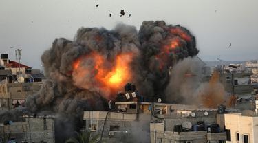 FOTO: Konflik Palestina dengan Israel Terus Berlanjut