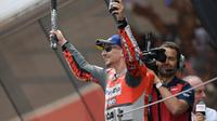 MotoGP 2018 akan jadi musim terakhir Jorge Lorenzo bersama Ducati. (Twitter/Ducati Motor)
