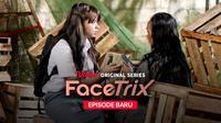 Rebecca Klopper dalam Vidio Original Facetrix. (Dok. Vidio)