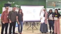 Screening film tentang perundungan oleh Komunitas Sudah Dong di DreamHUB Coworking Space, SCBD, Jakarta, 28 Agustus 2019. (Liputan6.com/Asnida Riani)