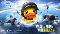 PUBG Mobile kolaborasi dengan B.Duck hadirkan konten unik di dalam gim. (Doc: Tencent/ PUBG Mobile)