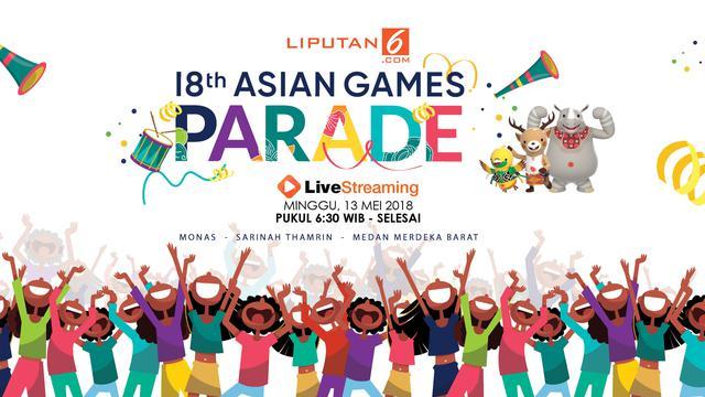 Banner Parade Asian Games