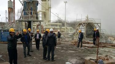 KPK melakukan kunjungan lapangan ke PT Geo Dipa Energi (Persero) Unit Dieng, Wonosobo, Jawa Tengah. (Foto: Geo Dipa)
