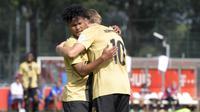 Bagus Kahfi mencetak dua gol untuk Jong Utrecht ketika melawan UR La Louviere Centre. (Twitter FC Utrecht).
