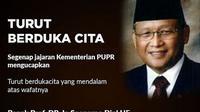 Prof.Dr.Soenarno.Dipl.HE Mantan Menteri Permukiman dan Prasarana Wilayah pada Kabinet Gotong Royong. (Istimewa)