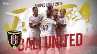 Bali United juara Shopee Liga 1 2019. (Bola.com/Dody Iryawan)