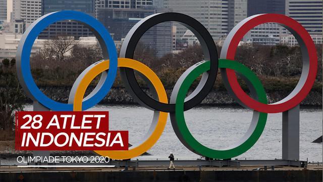 Berita Video Daftar 28 Nama Atlet Indonesia yang Akan Berjuan di Olimpiade Tokyo 2020