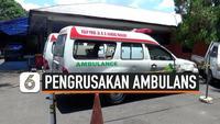 thumbnail pengrusakan ambulans