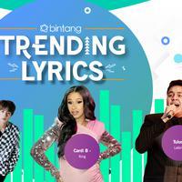Bintang Trending Lyrics (Desain: Nurman Abdul Hakim/Bintang.com)