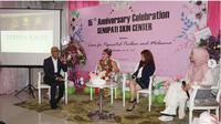 Klinik Kecantikan Senopati Skin Center. (foto: Instagram @senopatiskincenter