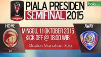 Piala Presiden 2015: Sriwijaya FC vs Arema Cronus (Bola.com/Samsul Hadi)