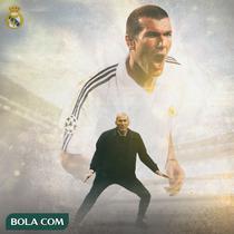 Real Madrid - Zinedine Zidane (Bola.com/Adreanus Titus)