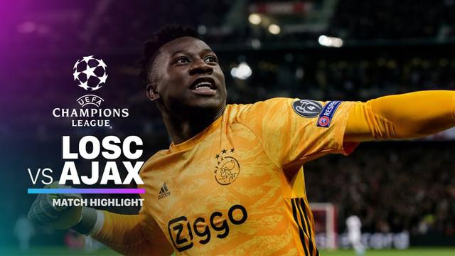 Berita Video Highlights Liga Champions, LOSC Lille vs Ajax Amsterdam 0-2