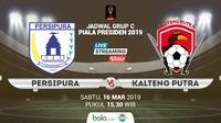 Piala Presiden: Persipura Jayapura vs Kalteng Putra. (Bola.com/Dody Iryawan)