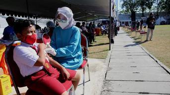 Sebanyak 44,1 Juta Warga Indonesia Sudah Divaksinasi Covid-19 Dosis Lengkap