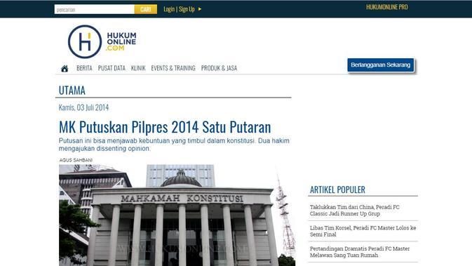 [Cek Fakta] Beredar Video Penjelasan soal Jokowi Tidak akan Bisa Menang dalam Pilpres 2019, Benarkah?