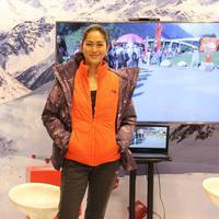 Prisia Nasution tetap modis meski melakoni hobby ekstrem. (Ristiawan/ivan YurBintang.com)