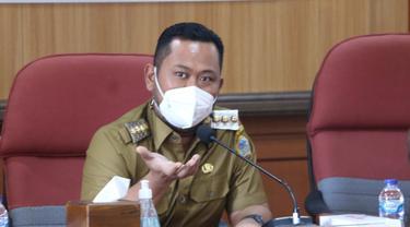 Bupati Gresik Fandi Akhmad Yani. (Dian Kurniawan/Liputan6.com)