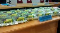 Barang bukti narkotika jenis sabu yang pernah diungkap BNN Riau. (Liputan6.com/M Syukur)