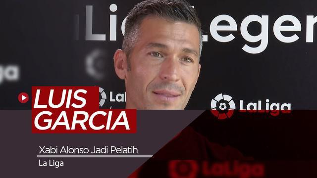 Berita Video wawancara Luis Garcia tentang  yang yakin Xabi Alonso akan sukses sebagai pelatih masa depan