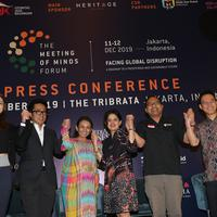 The Meeting of Minds Forum atau MeMinds akan digelar di Jakarta, 11-12 Desember 2019