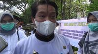 Kepala Dinas Kesehatan Sulawesi Barat dr Asran Masdy (Liputan6.com/Abdul Rajab Umar)