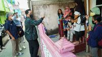 Menteri BUMN Erick Thohir mengapresiasi langkah jemput bola yang dilakukan Mantri BRI kepada UMKM di Palembang