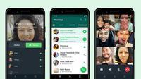 Bergabung dengan panggilan video grup di WhatsApp kini kian mudah. (Foto: Ist.)