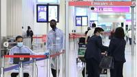 Bandara Dubai Gunakan Anjing untuk Lacak Penumpang Terinfeksi Covid-19. (dok.Instagram @dubaiairports/https://www.instagram.com/p/CCWLPOFp57H/Henry)