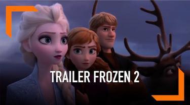 Film animasi Frozen 2 merilis trailer terbarunya. Ternyata ada pesan dibalik trailer tersebut, apa ya?