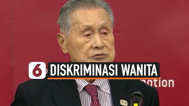 Mantan Perdana Menteri Jepang sekaligus Presiden Komite Penyelenggara Olimpiade Tokyo, Yoshiro Mori terpaksa mundur dari jabatannya setelah secara terang-terangan menyebut 'wanita terlalu banyak bicara' saat melangsungkan rapat.