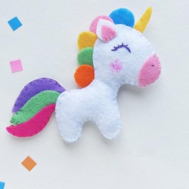 Cara Membuat Boneka Dari Kain Flanel Bentuk Unicorn Lucu