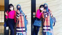 Rohimah Alli dan Eva Belisima (Sumber: Instagram/@rohimah_alli)