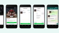 WhatsApp Business menghadirkan tombol pembelian langsung dari chat (Foto: WhatsApp)