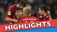 Video highlights Bundesliga antara Augsburg melawan Bayern Munchen yang berakhir dengan skor 1-3, Minggu (14/2/2016) WIB.