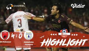 Babak Penyisihan #ShopeeLiga1 yang mempertemukan #PSM Makassar vs #Persipura Jayapura pada hari Senin sore (18/11/2019) berakhir d...