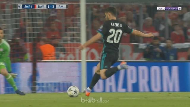 Berita video gol-gol kemenangan Real Madrid atas Bayern Munchen pada leg pertama semifinal Liga Champions 2017-2018. This video presented by BallBall.