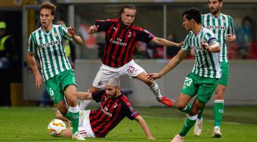 Jamu Real Betis, AC Milan Keok di Kandang Sendiri