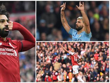 FOTO: Top Scorer Liga Inggris Hingga Pekan ke-37, Mohamed Salah Masih Teratas