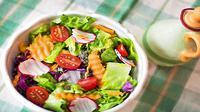 Ilustrasi sayuran mentah atau salad (Sumber: Pixabay/JillWellington)