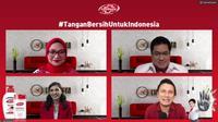 Konferensi Pers Virtual #TanganBersihUntukIndonesia, Kamis, (15/10).