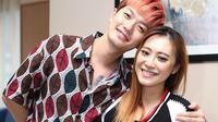 Lee Jeong Hoon dan Monique Octaviani alias Moa