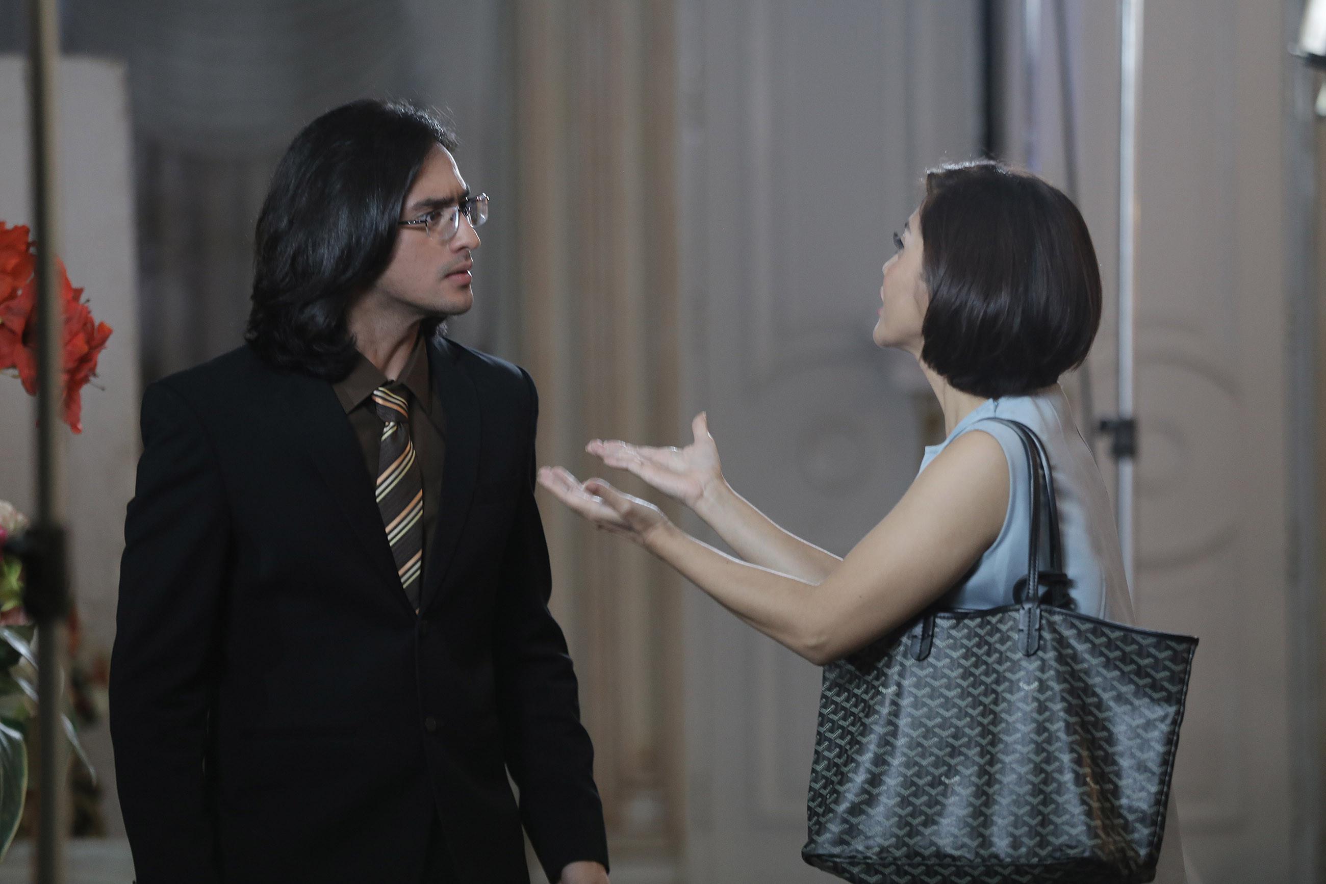 Omar Daniel - Eva Anindita di Berkah Cinta. (Galih W. Satria/Bintang.com)